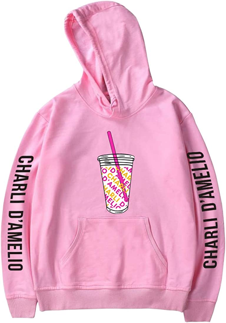 Oliphee Mens Casual Hoodie Charli Damelio Printed The Hybe House Inspired Sweatshirt Sports Outdoor Clothing Sweatshirts Hoodies Born and raised in norwalk, connecticut. basakeraydin com tr
