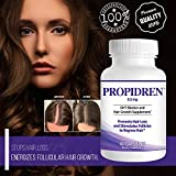 Propidren by HairGenics - DHT Blocker & Hair Growth Capsules to Prevent Hair Loss & Stimulate Hair Follicles, to Stop Hair Loss & Regrow Hair. Proprietary Anti-Hair Loss & Hair Regrowth