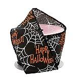 "Happy Halloween Spiderwebs Wired Ribbon - 2 1/2"" x"