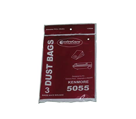 Kenmore 5055 50558 Type C Sears Canister Tank Vacuum Bags 609226 02050002000 50104 50012 Panasonic C-5 MC-V150M C-19 MC-V295H V9644 V9634 CG901 CG983, ...