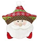 Emoyi Christmas Pillow Doll Gifts Home Decoration Christmas Ornaments Holiday Decor (Santa Claus)