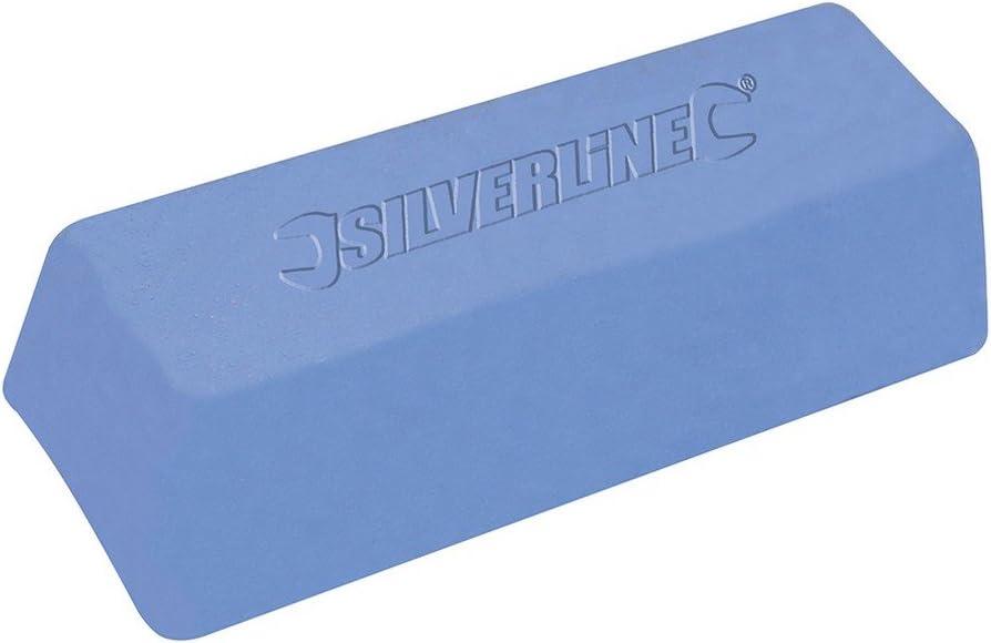 Silverline 107879 - Pasta para pulir de color azul (500 g)