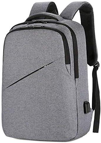 BAJIMI 、カジュアルハイキングTrの女性男性のためのポート15.6インチのコンピュータのバックパックを充電USBでのハイキングバックパック、学生のバックパック、ビジネスノートパソコンのバックパック防水盗難防止・カレッジスクールバックパック