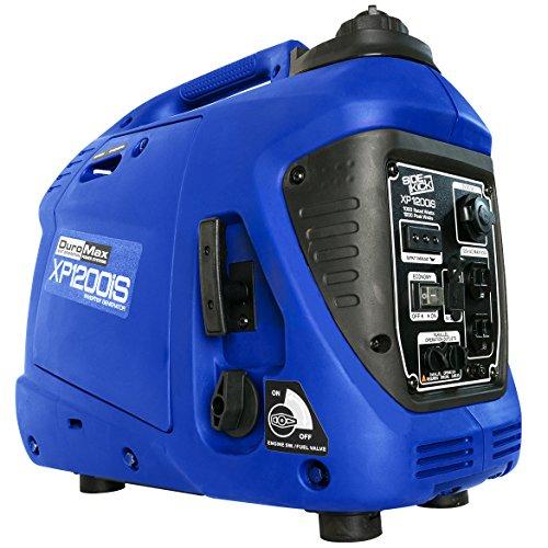DuroMax XP1200iS 1,200 Watt Portable Digital Inverter Gas Powered Generator - Portable Digital Inverter Generator
