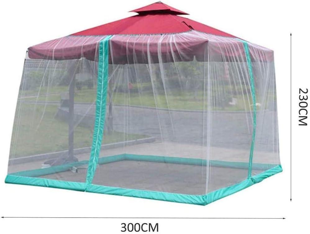 Polyester Mesh ScreenFabric Universal Patio Umbrella Cover fits Gazebos BBYT 11ft Patio Umbrella Bug Screen w//Zipper Door