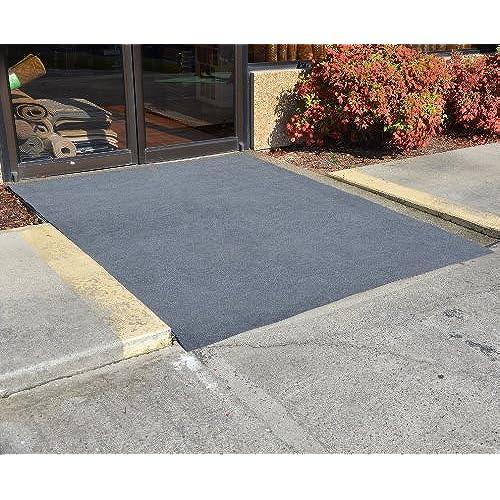 Genial Dean Flooring Company Indoor/Outdoor Patio Deck Boat Entrance Event  Carpet/Rug Mat With Marine Backing   Size: 6u0027 X 10u0027   Color: Steel Gray