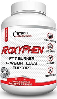 RoxyPhen™ Best Fat Burning Pills, Thermogenic Fat Burner Pills with Green Tea, Weight Loss Pills, Appetite Suppressant, Supplement for Energy, Metabolism Booster, Focus, Fat Blocker, Carb Blocker