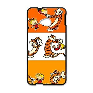 Calvin and tigger Cell Phone Case for HTC One M7