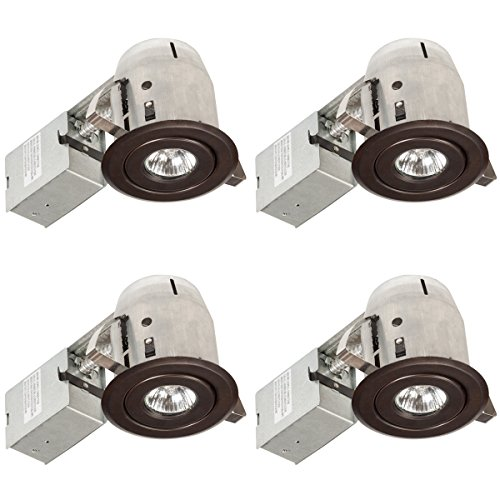 Globe Electric Spotlight Push N Click 90964