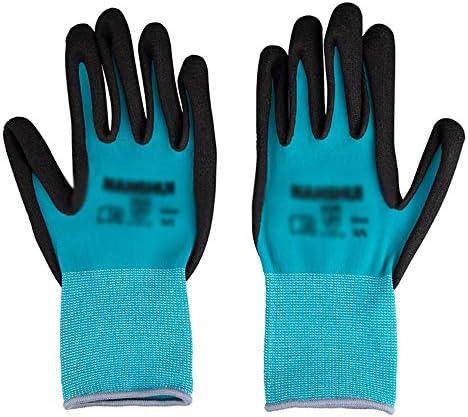 ソフト防水、耐摩耗性、1組のツールの操作を保護手袋を扱うアウトドアガーデングローブ (Size : S)