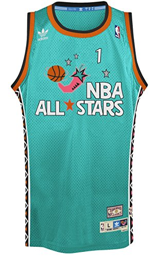 Penny Anfernee Hardaway Orando Magic 1996 All Star Adidas Swingman Jersey (XL)