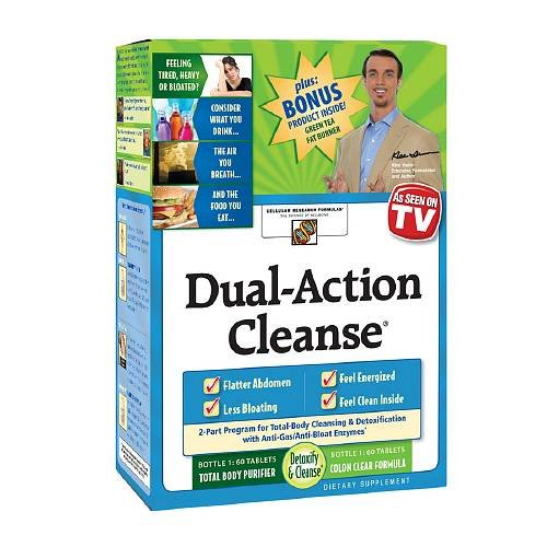 Dual Action Cleanse Formula - 8
