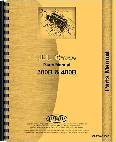 Read Online Case 311B Tractor Parts Manual PDF