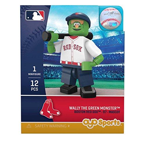OYO MLB Boston Red Sox Gen5 Limited Edition Mascot Minifigure, Small, White