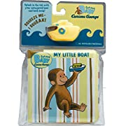 Curious Baby My Little Boat (Curious George Bath Book & Toy Boat) (Curious Baby Curious George)