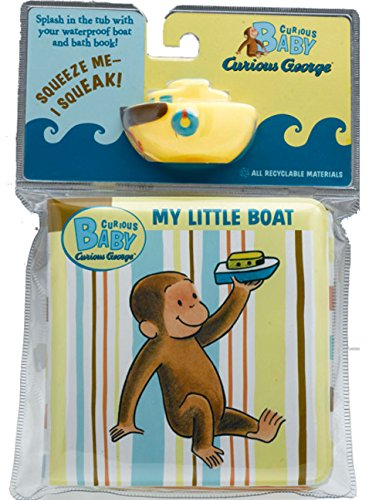 Price comparison product image Curious Baby My Little Boat (Curious George Bath Book & Toy Boat) (Curious Baby Curious George)