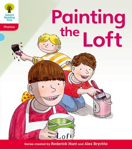 Oxford Reading Tree: Level 4: Floppy's Phonics Fiction: Painting the Loft por Roderick Hunt