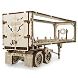 UGEARS Trailer for Heavy Boy Truck VM-03 Self-Assembling 3D Wooden Model