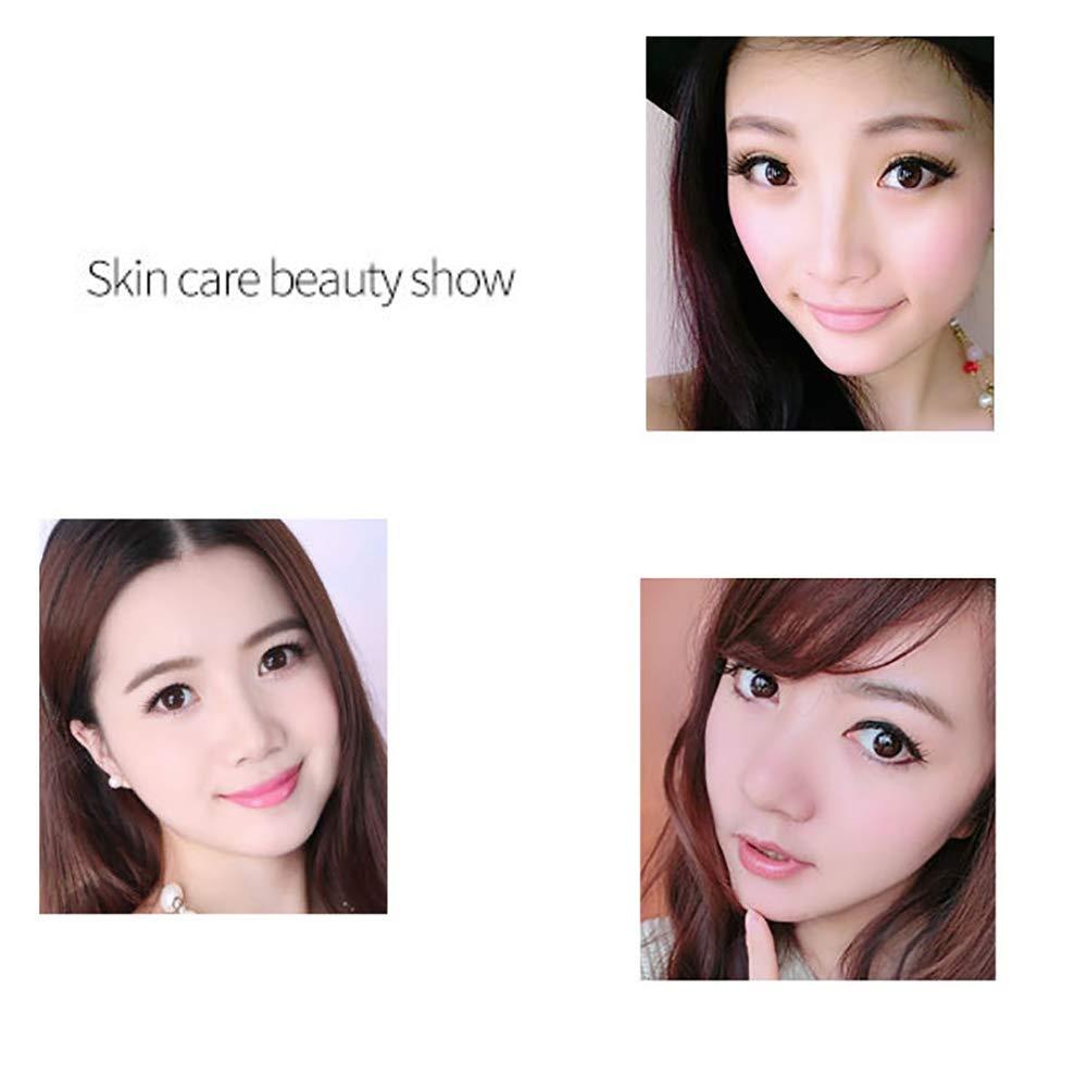 Esencia facial de sérum de vitamina C para cara con ácido hialurónico, crema hidratante para la cara, crema de blanqueamiento, antienvejecimiento y ...