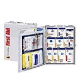25 Person Metal Case SmartCompliance Food Service First Aid Cabinet OSHA Emergency Kit First Aid Kits for Restaurants