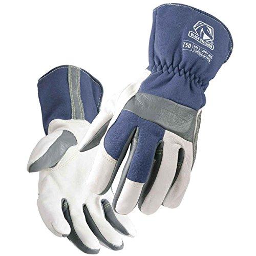 Revco T50 Mens Tigster Flame Resistant Welding Gloves Blue/White Medium
