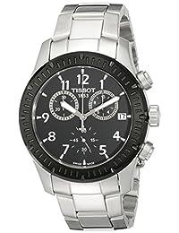 Tissot Men's T0394172105700 V8 Analog Display Swiss Quartz Silver Watch