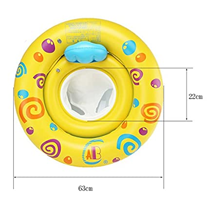 Infant Baby Sit to Swim Floats Outdoor Pool Water Swim Ring Toy /¡/ HANMUN Inflatable Baby Float Swim Tube