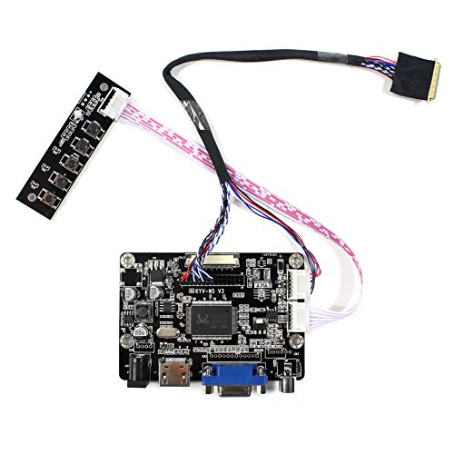 HDMI VGA AV Input LCD Controller Board For 14