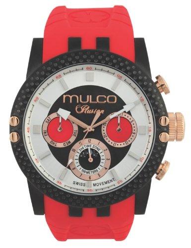 MULCO Unisex MW3-11169-065 Lincoln Illusion Chronograph Analog Swiss Movement Watch