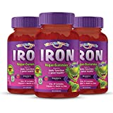 Vitamin Friends Gummy Bear Iron Supplements for Kids (60 Day Supply) with B-Complex, Vitamin C, Zinc, Biotin - Iron Gummies Support Children Healthy Body Function and Iron Levels