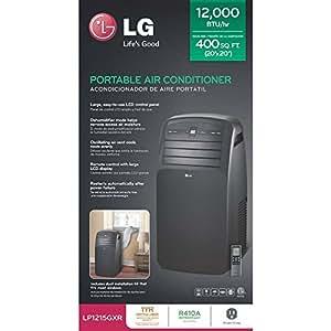 LG LP1200dxr 12,000 BTU Portable Air Conditioner