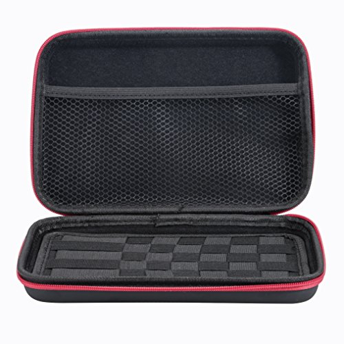 Leeko Portable Coil Jig Kbag Carry Case Convienent Bag for Coils, Tanks, Mods, Bottles Coil Supplys & Other Accessories Black(CASE ONLY)