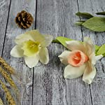 Paper-Flowers-Kit-Unique-Birthday-Thanksgiving-Christmas-New-Year-Gifts-Make-2-Daffodil-Flowers-Handmade-Paper-flowers-with-free-template-and-precut-petals-kit