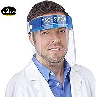 2x Visera Protectora Facial Pantalla Proteccion Cara TPE