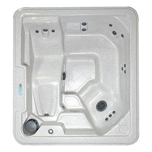 QCA Spas Model 14 Phoenix Hot Tub, 80 by 73.5 by 30-Inch, SIERRA