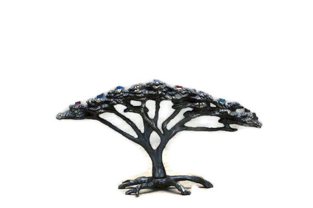 Nelles Studios Tree of Life Menorah by Nelles Studios