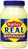Nalley Real Mayonnaise, 32 Ounce (Pack of 12)
