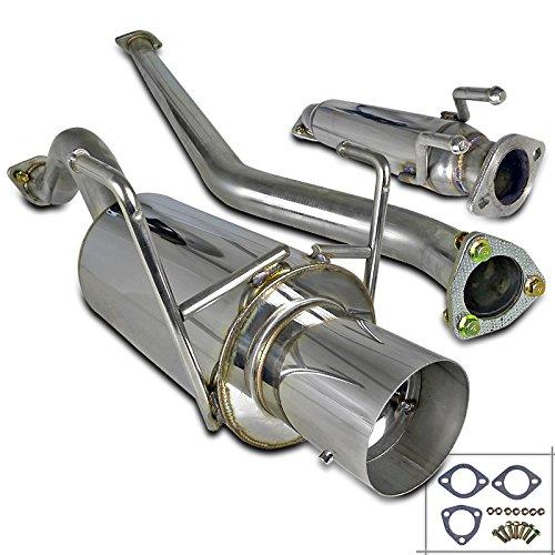 Spec-D Tuning MFCAT2-CV023 Honda Civic Si EP3 JDM Catback Exhaust