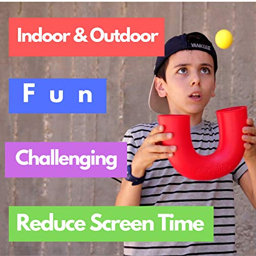 pindaloo Juggling Skill Toy with 2 Balls | an Exciting New Game for Kids Teens and Adults – Indoor and Outdoor Play…