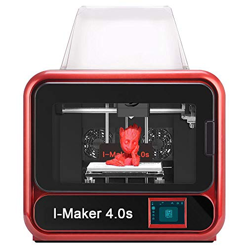 High-end 3D Printer:I-Maker 4.O(S),Built-in Camera, Resume Printing, Filament sensor and much more by WOL3D