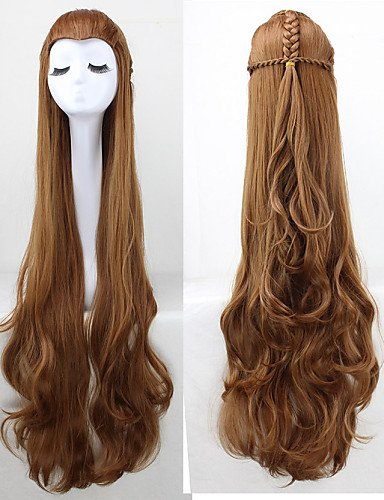 Fashion wigstyle Sword Art Online Asuna Yuuki Cosplay peluca