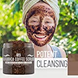 M3 Naturals Arabica Coffee Scrub Infused with