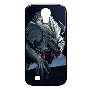 Warwick-009 League of Legends LoL For Case Samsung Galaxy S4 I9500 Cover - Plastic Black
