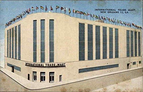 International Trade Mart New Orleans, Louisiana Original Vintage Postcard