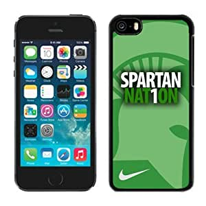 Customized Iphone 5c Case Ncaa Big Ten Conference Michigan State Spartans 13