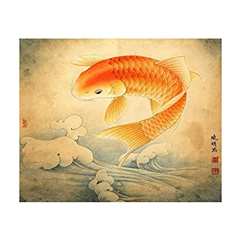Fish Artwork: Amazon.com