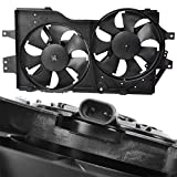 TOPAZ 4682624 Radiator Cooling Fan Assembly for 96-00 Caravan Voyager Town & Country