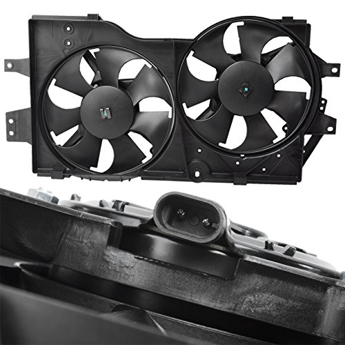 Country Radiator Fan Replacement (TOPAZ 4682624 Radiator Cooling Fan Assembly for 96-00 Caravan Voyager Town & Country)