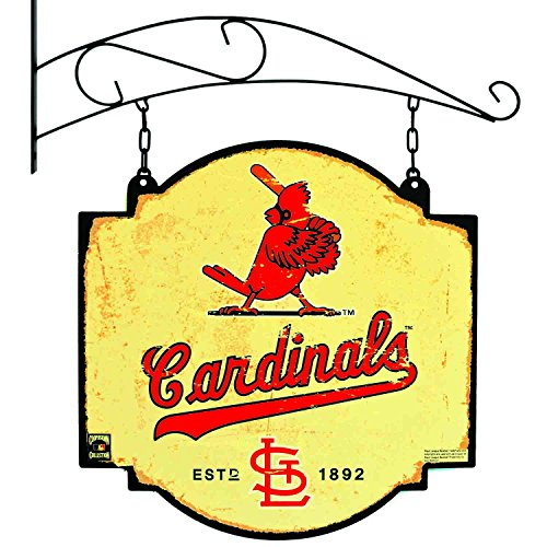(MLB St. Louis Cardinals Men's Tavern Sign, Small, Multicolor)