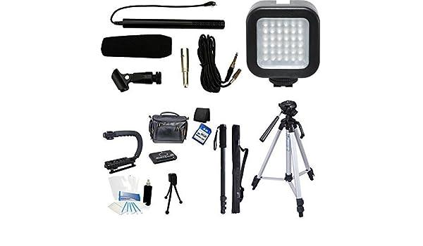 Juego de vídeo y micrófono cineasta kit de vacaciones para Nikon ...